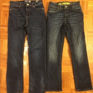 Big boy's jeans. 14